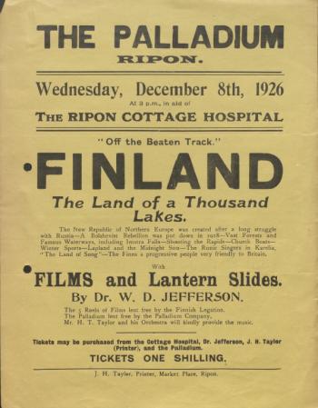 W.D. Jefferson & Finland Movie