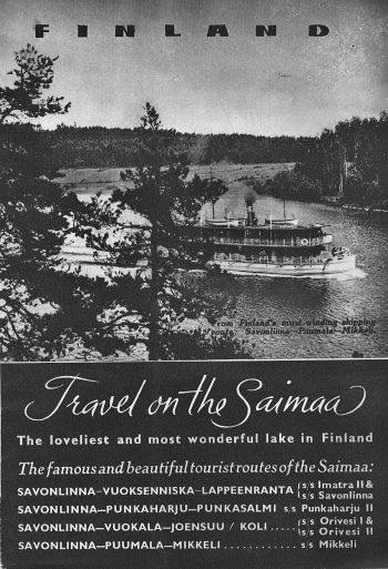 Travel on the Saimaa