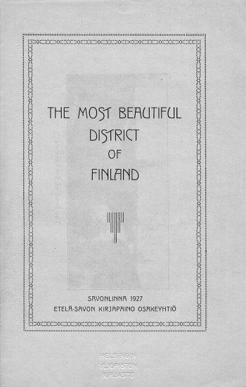 Suomen kaunein alue löytyy Savosta