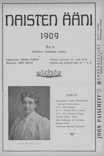 Journalist and suffragette Maikki Friberg describes The Congress of the International Women's Suffrage Alliance in London