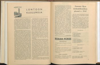 """London is simply too big"" – Difficulties of a Finnish Correspondent"