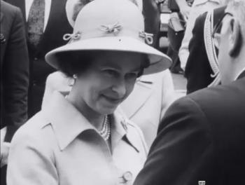 Elizabeth II Explores Helsinki