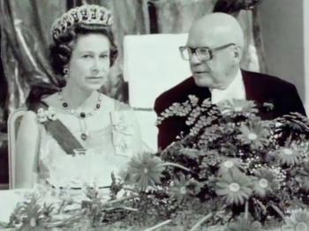 Kuningatar Elisabeth II:n illallispuhe