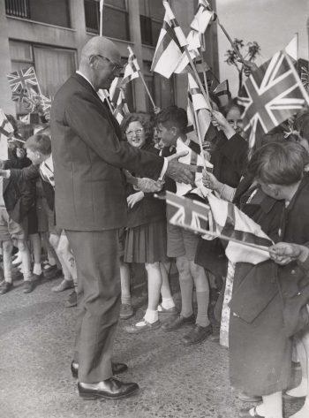 The Finnish President Kekkonen's State Visit to the UK in 1961