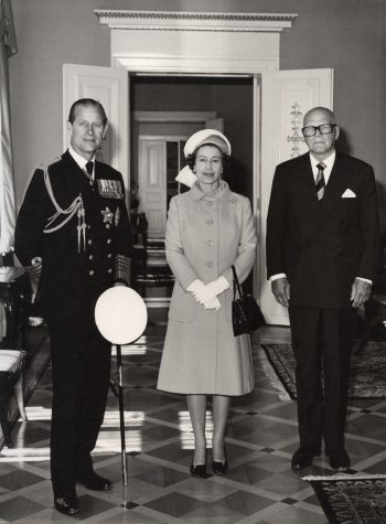 Queen Elizabeth visits Finland for the first time