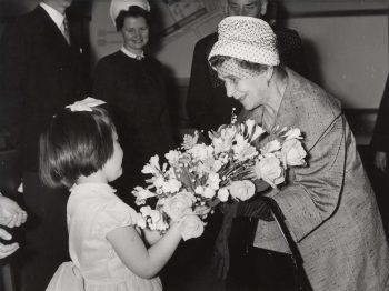 First Lady Sylvi Kekkonen on a State Visit to the UK